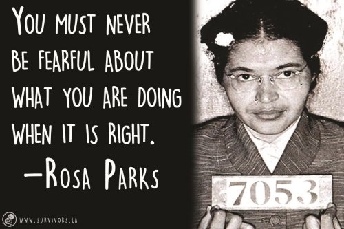 the achievements and contributions of rosa park Rosa parks in 1955, with martin luther king, jr in the background born: rosa louise mccauley (1913-02-04) february 4, 1913 tuskegee, alabama, us.