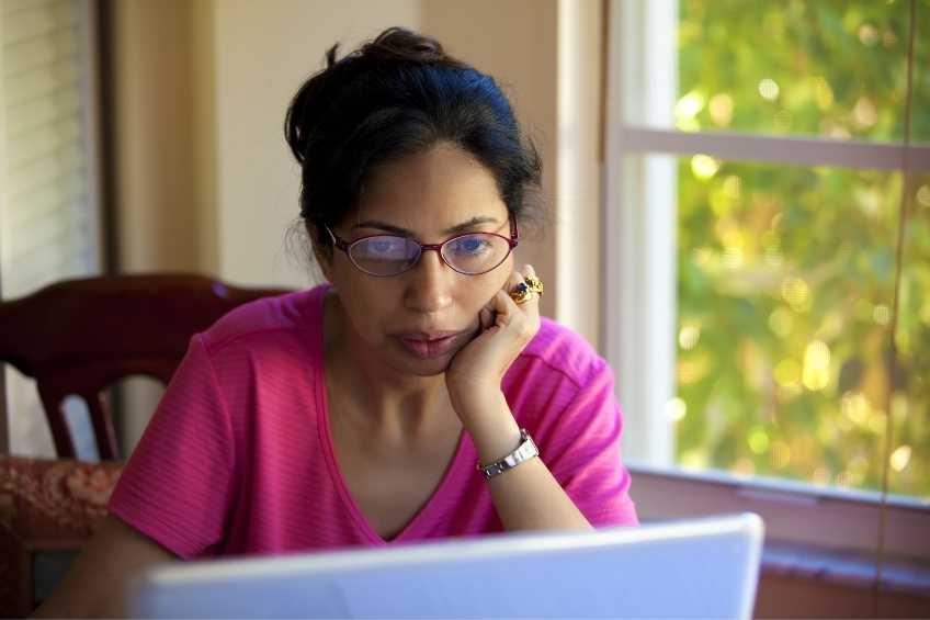 Woman enrolled in ChildSavers online CDA Training